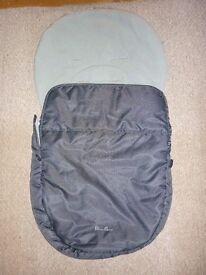 Silver Cross pram/pushchair/buggy padded cosy toes or foot muff