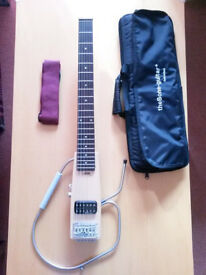 The bone Mosquito travel guitar AS NEW condition!!!
