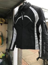 Bearing ladies bike jacket size 14/small 16