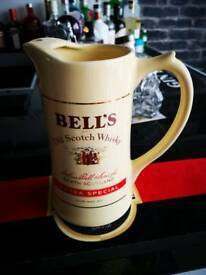 Bell whisky water jug