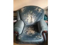 Massive sofa and two armchairs £150