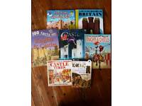 7 CASTLE REFERENCE BOOKS FOR CHILDREN