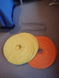 Paper Lanterns - Orange, Yellow and White - job lot - ideal for a wedding!