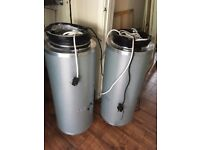 2 Large air Filters for a Grow Room