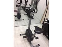 Exercise bike - gym - indoor equipment