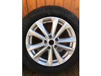 Nissan Juke alloy wheels
