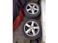 Honda Accord 2003 to 2007 civic crv Alloys full set