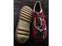 Ladies RED KICKERS walking shoes size 6.5