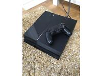 PS4 with wireless controller