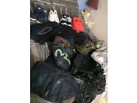 G star,Evisu,money,humour.... Nike Adidas trainers