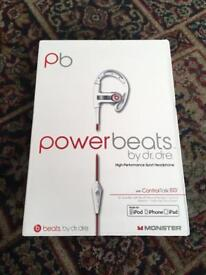 Powerbeats Headphones by Dr.Dre