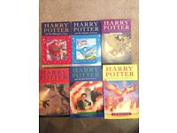Brand new first 6 Harry Potter books