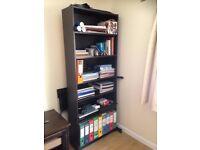 Black wood Bookcase