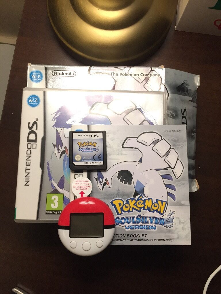 Pokemon Soulsilver VERY RARE! + Pokewalker!