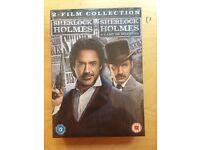 Sherlock Holmes & Sherlock Holmes A Games of Shadows DVD