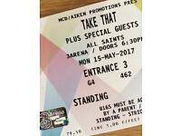 Take That tickets Dublin Mon 15 May