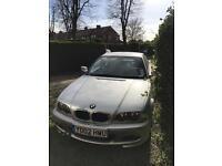 BMW 318ci 1995cc coupe, 02plate