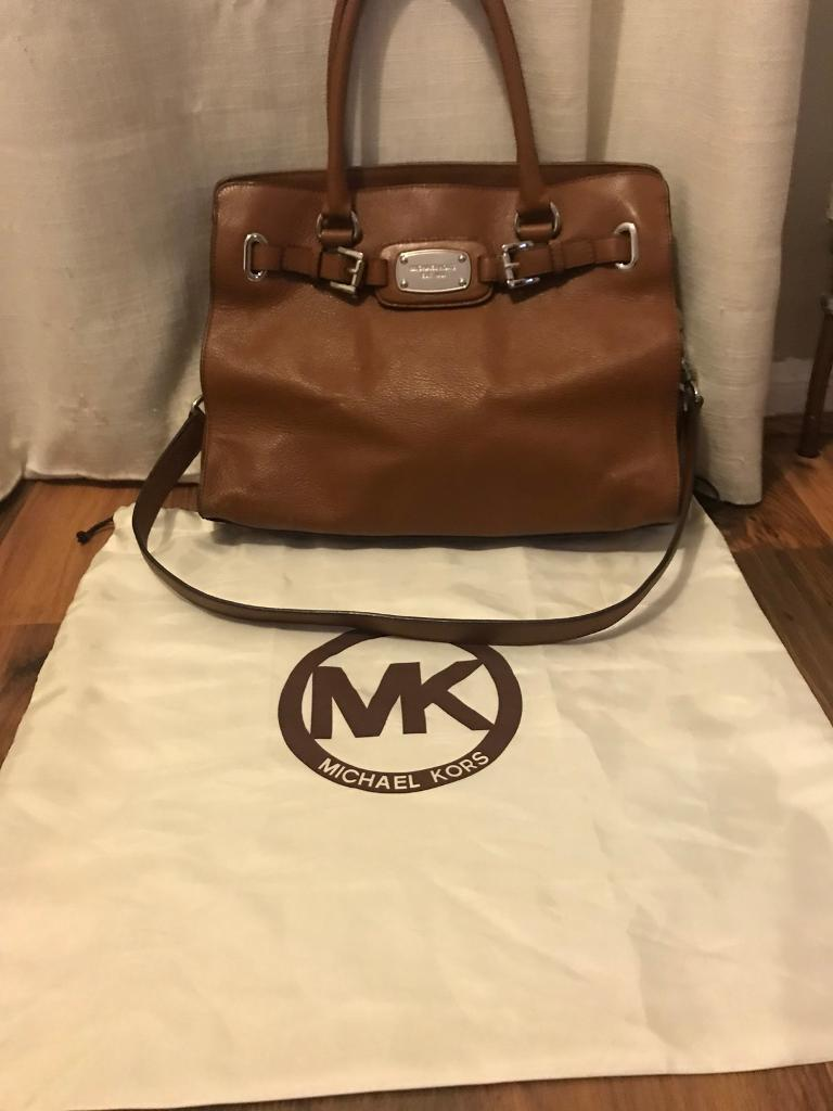 Michael Kors Hamilton shoulder satchel handbag