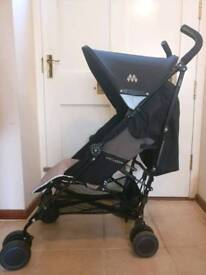 McLaren 'Quest' Pushchair, Champagne & Black with FREE flight carry bag