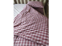 Two Duvalay bedding sets
