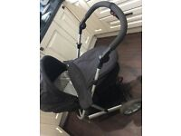 Black mamas and papas travel system