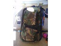 Camo seat/bag