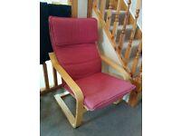 "IKEA "" Poang"" Arm Chair"