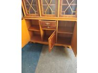Selling stunning two piece unit , for home or office (bookcase) (bookcasw