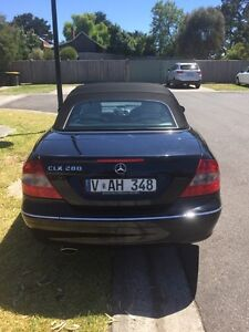 2008 Mercedes-Benz CLK280 Convertible Mernda Whittlesea Area Preview