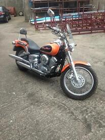 Yamaha 650 dragstar (low miles)