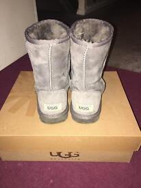 Real grey ugg boots