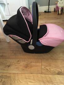 Silvercross Simplicity car seat vintage pink