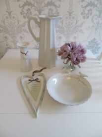 NEXT Ornaments Jug, Vase, Plaque, Posy Flowers