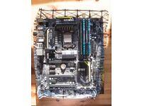 Intel Core i7 3770k + MSi Mpower Z77 Motherboard + 16gb (4x4gb) DDR3 Corsair Vengeance 1600mhz RAM
