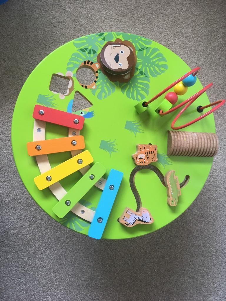 carousel tesco play & learn music table toddler toy   in waterbeach,  cambridgeshire   gumtree