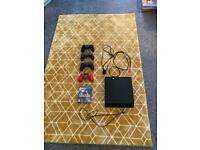 PS4 500GB with controllers and Modern Warfare