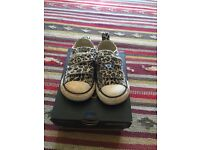 Converse baby girl trainers size 4