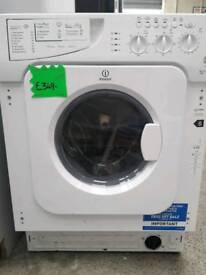 Built in indesit washer dryer graded