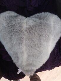Next heart cushion £3 vgc