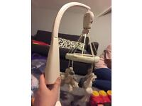 Mamas and papas baby mobile for cot