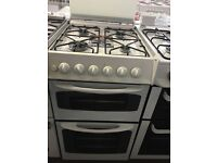 50CM WHITE GAS COOKER TWIN CAVITY