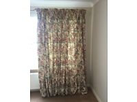 Beautiful made to measure floral curtains