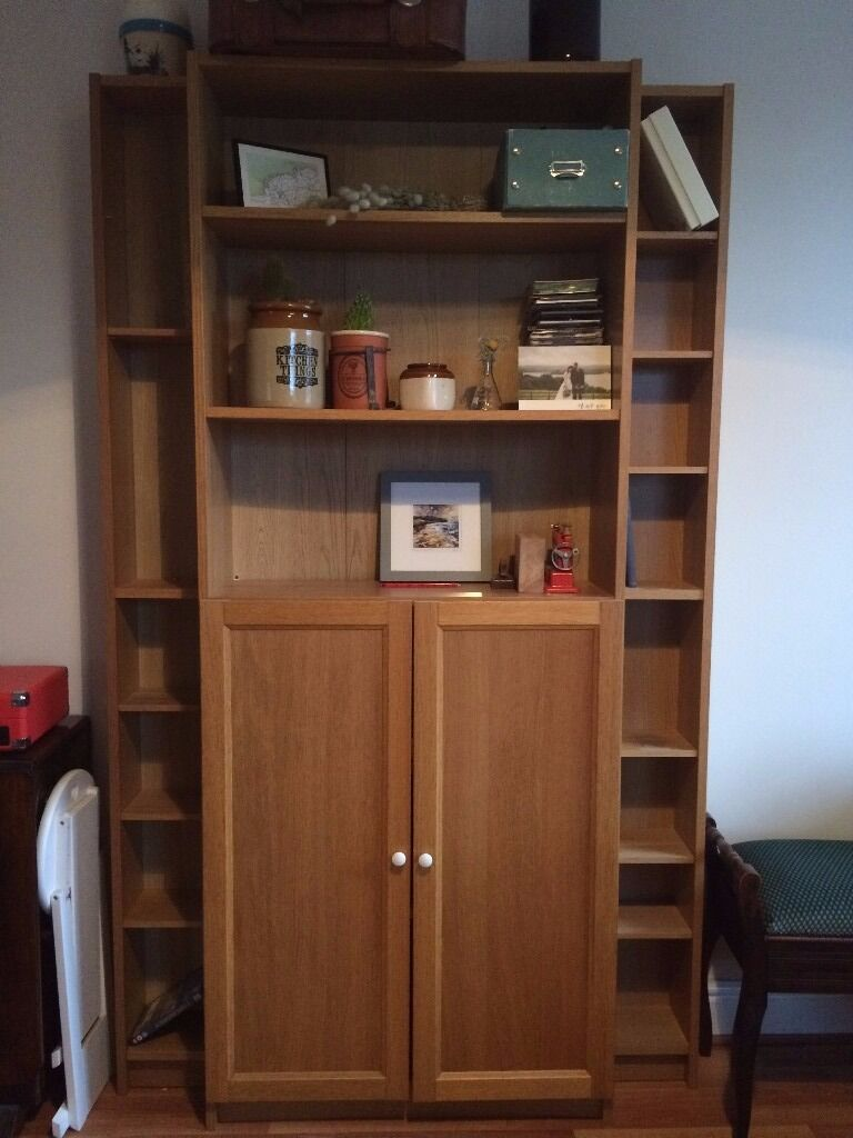 Ikea Dvd Shelving Unit And Bookcase