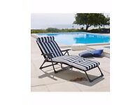 2 New comfortable Sun cushion lounger - £60 each, or £100 for 2