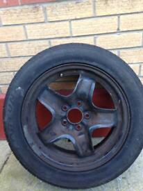 Spare Wheel for Zafira