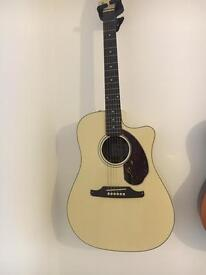 Acoustic Electric Fender Guitar