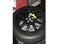 Spare wheel Land Rover