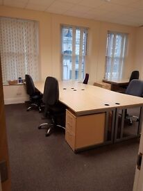 A bargain office share for up to 6 desks in Peckham Rye. Bright, airy and secure fixed space.
