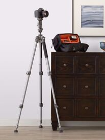 Camera Tripod with Pistol Grip Adjustable Head