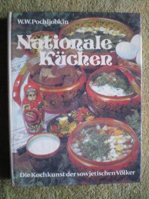 Kochkunst der sowjetischen Völker  DDR Kochbuch / Wareniki Stschi Bliny Piroggen